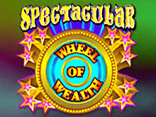 В казино без бонуса автомат Spectacular Wheel Of Wealth